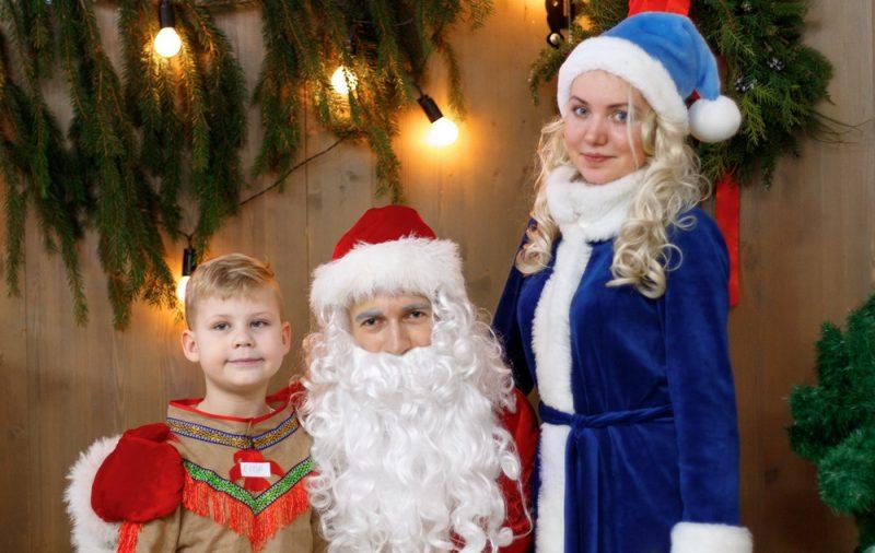 Новогоднее поздравление от Деда Мороза и Снегурочки на дому