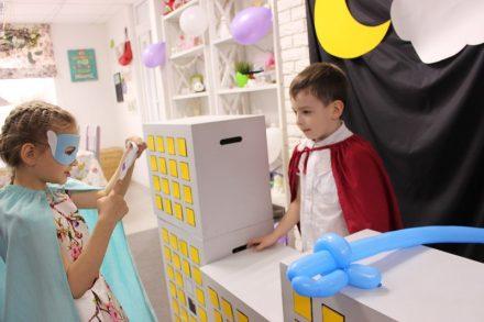 День Рождения в стиле Супергероев