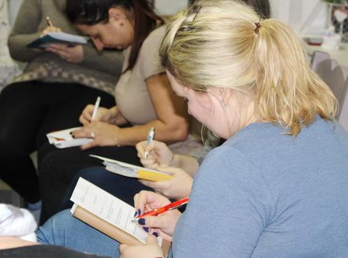 Групповое занятие с психологом и четвертая встреча в рамках проекта «НеВЕСомость-5»