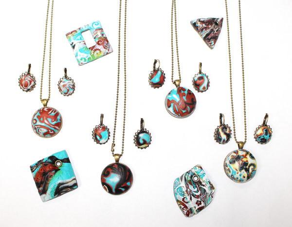 Мастер-класс по созданию украшений из полимерной глины: на любой вкус и цвет!