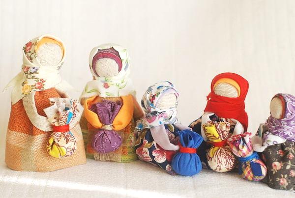 Мастер-класс «Куклы-обереги»