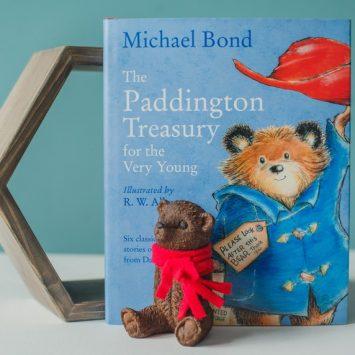Распиши красками медвежонка Паддингтона!