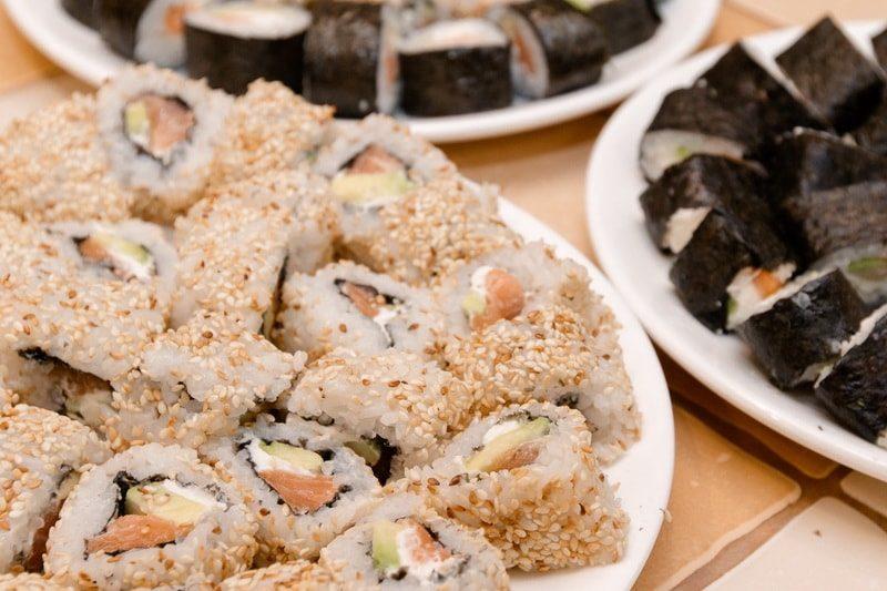 Кулинарный мастер-класс «Суши и сладкие роллы»