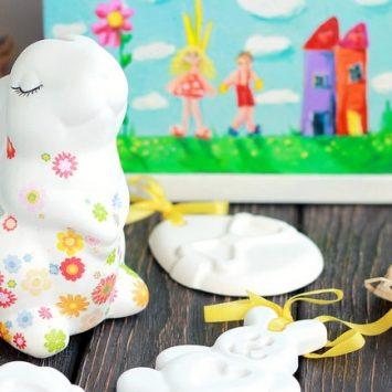 Пасхальные наборы — творческий подарок ребенку на светлую Пасху!
