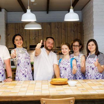Фотоотчет с мастер-класса по приготовлению пирогов
