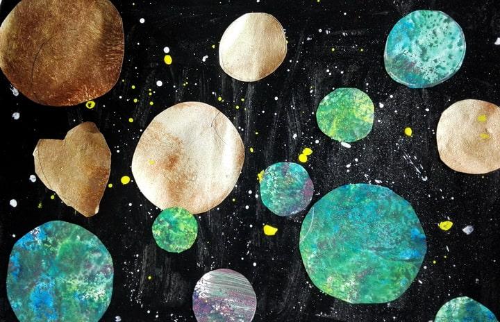 Космическая неделя в Увлекательной Продленке: круассаны, ежики из винограда и космос