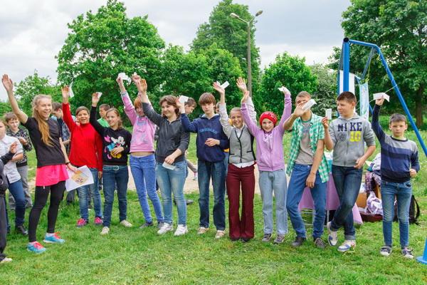 Спортивное ориентирование для воспитанников ГУ «Вспомогательная школа-интернат №7»