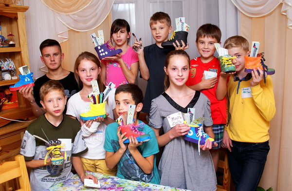 Мастер-класс для детей из детского дома семейного типа
