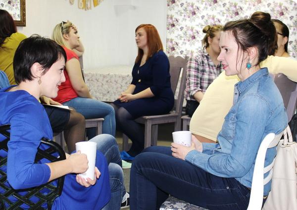 Восьмая встреча участниц проекта «НеВЕСомость-5» с психологом