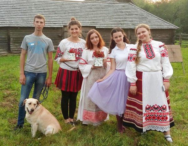 Семейный центр принял участие в фолк-фестивале «Камяніца»