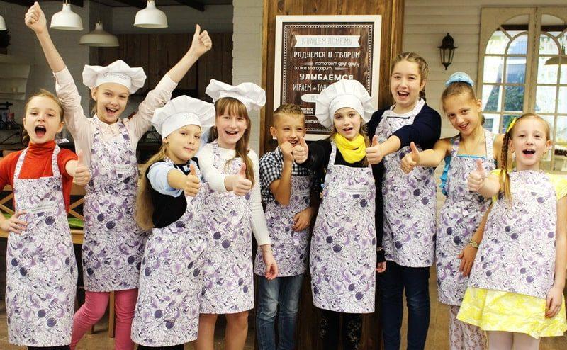 Кулинарная школа для подростков 30 марта-2 апреля. Расписание. Запись