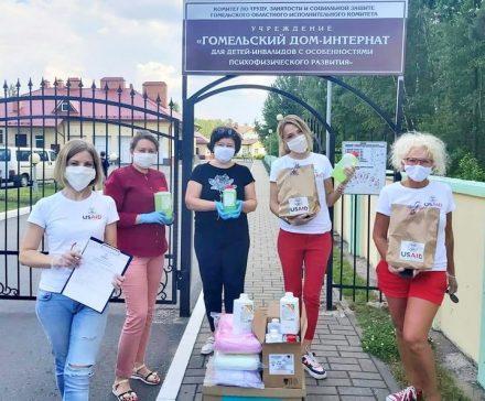 Акция в поддержку врачей через их детей